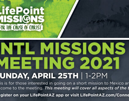 International Missions Meeting April 25th